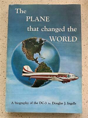 1966 BIOGRAPHY OF THE Douglas DC3 aircraft history aviation United airlines book