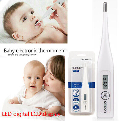 Digital OMRON MC-246 LCD Thermometer Medical Baby Adult Under Arm Temperature~