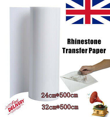 5M UK SELLER✔ Clear Vinyl Application Tape Sticky Sign Decal Transfer Paper