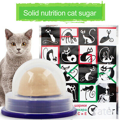 Healthy Cat Sugar Snacks Candy Energy Ball Toys for Cat Kitten Playing Pet Cat