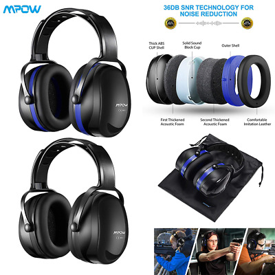 Mpow Baby Kids Ear Defenders Autism Muffs Noise Reduction Protectors For Shooter