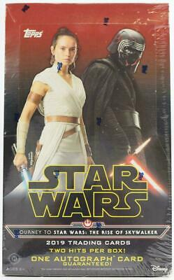 2019 Topps Journey To Star Wars: The Rise Of Skywalker Factory Sealed Hobby Box