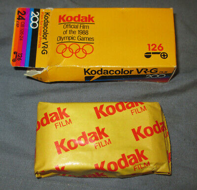 1 Roll EXPIRED Unopened KODAK Kodacolor VR-G 126 Color Prints Film 24exp ISO 200