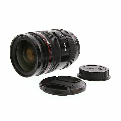 Canon 24-70mm F/2.8 L USM Macro EF Mount Lens {77} with Caps - BG