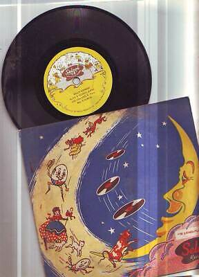 6 INCH VINTAGE 78 RPM CHILDRENS' RECORD IN COVER  RARE 1950s