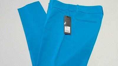 New Women's Size 8 Turquoise Stretch Extensible Ankle Pants BY Mossimo