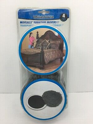 WORKFORCE MoveAlls and Protectalls Slides Furniture Movers Floor Protectors 4pk