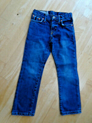RALPH LAUREN POLO boys blue denim skinny leg jeans AGE 5 YEARS EXCELLENT COND