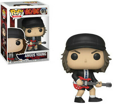 Ac/Dc - Angus Young - Funko Pop! Rock: (Toy Used) 889698363181