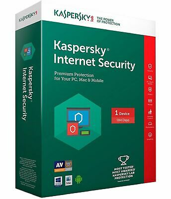 Kaspersky Internet Security 1 Year + 2 months 1 PC Global key