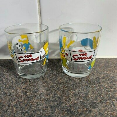 Nutella Collectable The Simpsons Homer and Marge and Bart