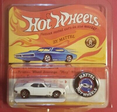 Hot Wheels 2018 RLC 50th HWC Original 16 CUSTOM CORVETTE White Limited Edition