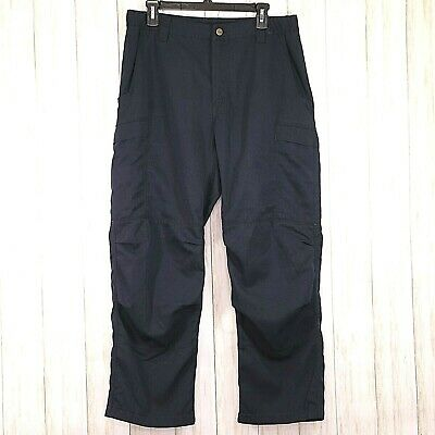 Nomex IIIA Mens Navy Pants Size 34 x 29 Flame Resistant Textile