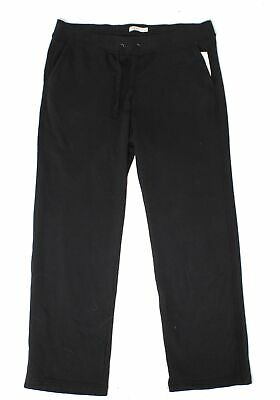 UGG Womens Pants Black Size 1X Plus Drawstring Relaxed-Fit Stretch $85- 324
