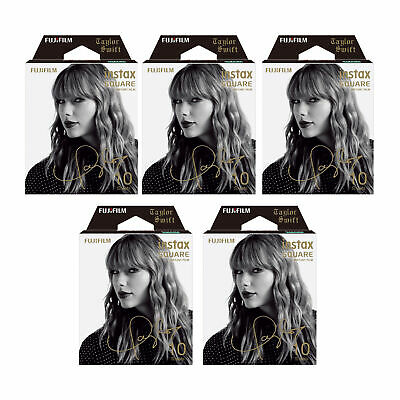 Fujifilm Instax Square Film Taylor Swift Edition (5-Pack)