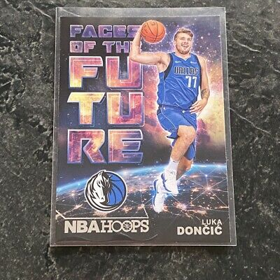 Luka Doncic RC 2018-19 Panini NBA Hoops #3 Faces of the Future Insert Rookie