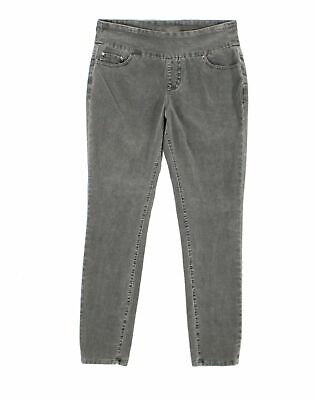 Jag Jeans Womens Pants Gray Size 10 Corduroys Skinny High-Rise Stretch $74 339