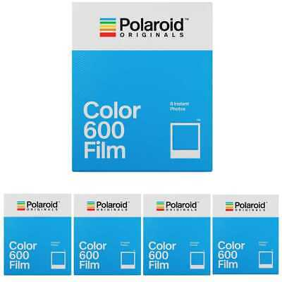 Polaroid Originals Instant Classic Color Film for 600 Cameras 5-Pack