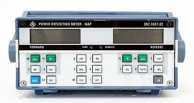R&S Rohde Schwarz NAP Power Reflection Meter