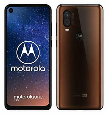 2233162-Motorola One Vision Dual SIM, 128GB, 48MP, Android 9 Pie, Display Cinema