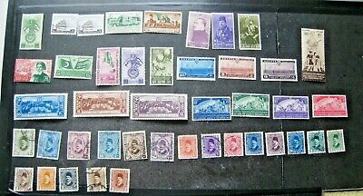 Unchecked Selection Of Egypt Stamps. Mh & Used.  Lot#E1