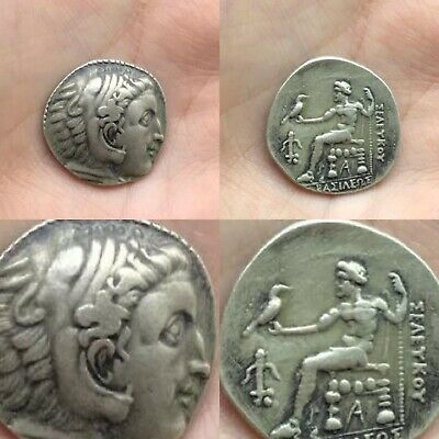 ANCIENT GREEK  Macedonia Alexander the Great Silver Coin Genuine 330BC