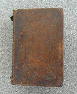 RARE Early 19th Century King James Antique Bible - for restoration