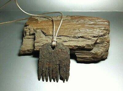 RARE ANCIENT Authentic Amulet Iron Comb Crest Hair Viking period 8-10 cen.AD2518
