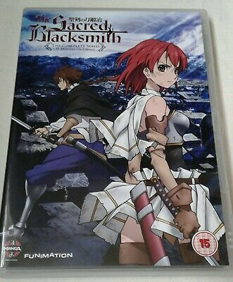 The Sacred Blacksmith The Complete Series Anime DVD