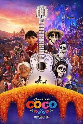 Coco - Original DS Film Affiche - 27x40 D/S 2017 Advance B - Pixar