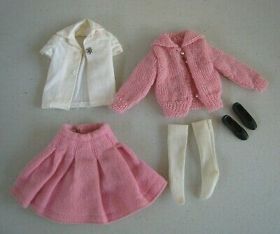 1960's Mattel Skipper School Days #1906 Outfit NM Near Complete #BM139