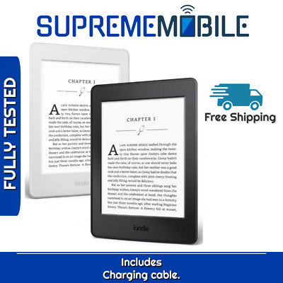 "Amazon Kindle Paperwhite 7th Gen 6"" 300ppi 4GB WiFi Only E-reader - All Colors"