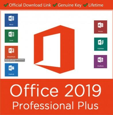 Microsoft Office Professional Plus 2019 32/64 Bit Licence Key🔑- Fast Delivery🔥