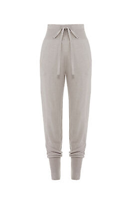 Josie Natori Womens Pants Gray Size Small S Jogger Tapered Drawstring $110- #028