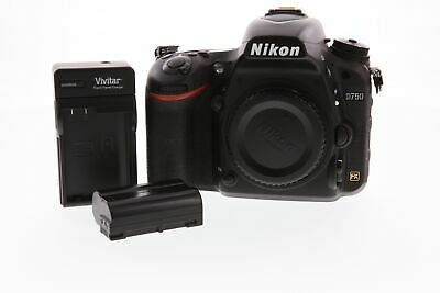 Nikon D750 Digital SLR Camera Body with battery & charger, 24mp,