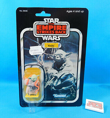 Vintage 1980 Kenner Star Wars The Empire Strikes Back Yoda New on Card