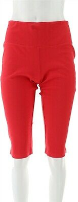 Women with Control Petite Tummy Cntrl Pedal Pushers Hot Peach PS # A305387