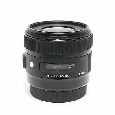 SIGMA  A 30mm F1.4 DC HSM (for Canon EF-S mount) -Near Mint- #303