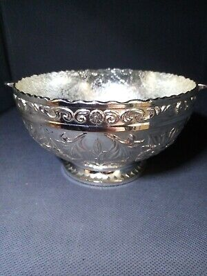 SILVER PLATED 5 inch BOWL/DISH Edwardian/queen anne style