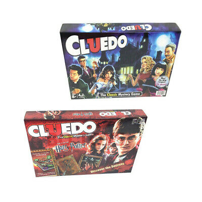 Cluedo The Classic Mystery Board Game Perfect Family Game Cluedo Harry Potter