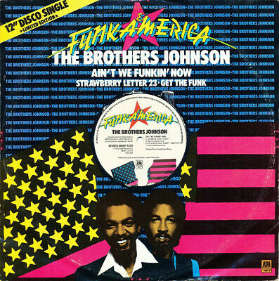 AMSP 7379 - Brothers Johnson - Ain't We Funkin' Now - ID34z