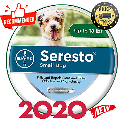 Bayer Seresto Flea Collar for Small Dog Fleas and Ticks,Germany , New