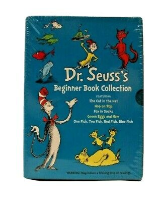 Dr. Seuss's Beginner Book Collection: The Cat in the Hat Hop On Pop Fox in Socks