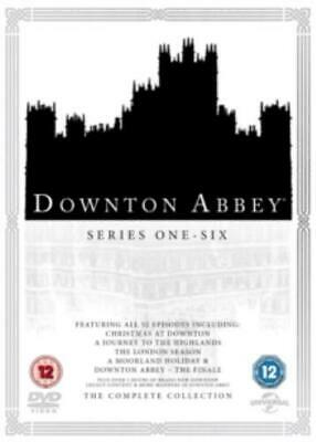 Downton Abbey: The Complete Collection =Region 2 DVD,sealed=