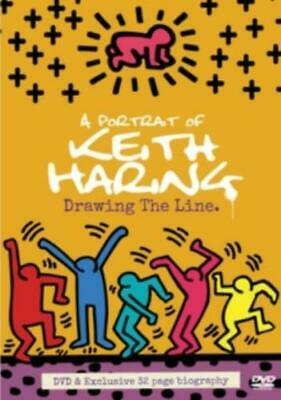 Portrait of Keith Haring - Drawing the Line =Region 2 DVD,sealed=