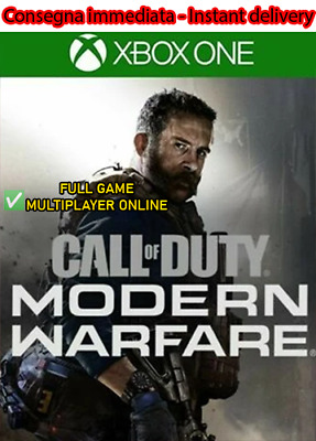 Call of Duty Modern Warfare Xbox One Download NOKEY/CD Leggi Descrizione OFFLINE