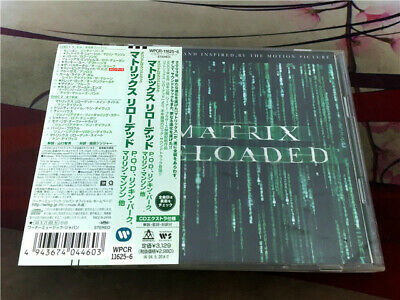 Various ‎– The Matrix Reloaded: The Album WPCR-11625~6 JAPAN 2CD OBI E330-87