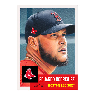 2020 TOPPS LIVING SET # 299 EDUARDO RODRIGUEZ Boston Red Sox Pre-Sell