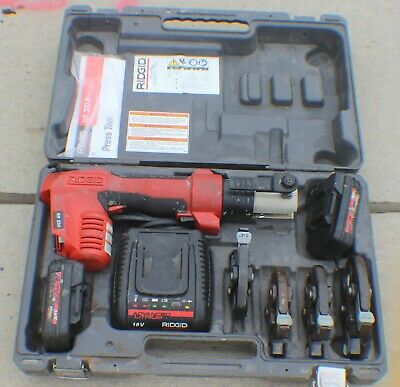 "RIDGID RP 200-B RP200 18V ProPress Compact Press Tool with 4 Jaws 1/2"" - 1-1/4"""