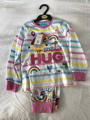4-5 Years Hey Duggee Girls Pyjamas New With Tags TU